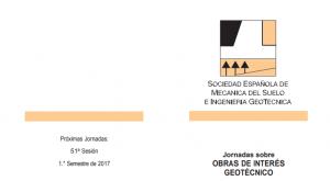 50ª Jornadas Obras de Interés Geotécnico