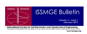 Boletín ISSMGE – Febrero 2017