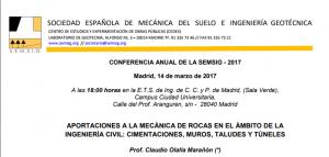 CONFERENCIA ANUAL DE LA SEMSIG 2017