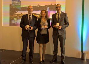 Medalla Baker otorgada a Eduardo Alonso y Núria Pinyol
