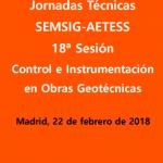 18ª JORNADA TÉCNICA SEMSIG-AETESS