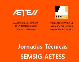 19ª JORNADA TÉCNICA SEMSIG-AETESS @ Salón de Actos del CETA - CEDEX