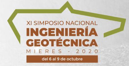 XI SIMPOSIO NACIONAL DE INGENIERÍA GEOTÉCNICA